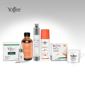 SIMON & Tom Yoffee Clear–Premium Pilz Nagel Behandlung, geeignet für Finger und Zehen Nägel. Mit Tee Baum und Arganöl. 10ml -